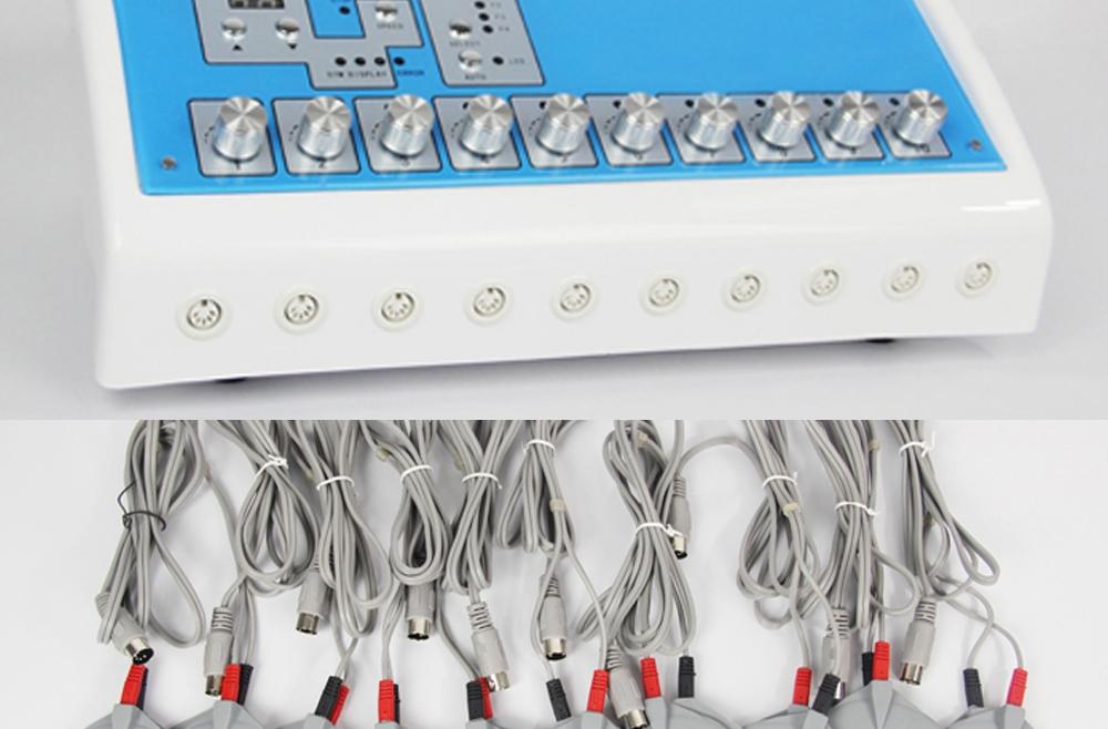 Electrostimulare in patura termica