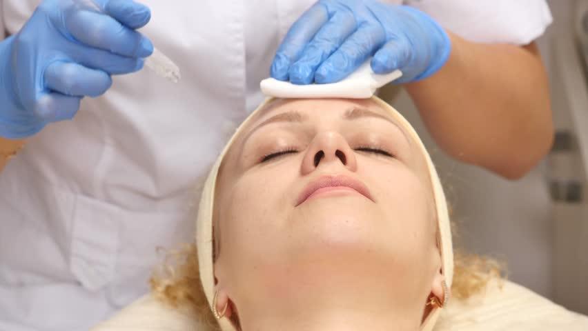 Electrostimulare faciala